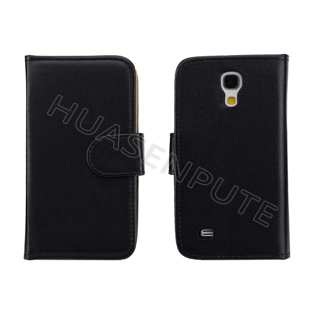 Book Style Flip Leather Case for Samsung S4 mini