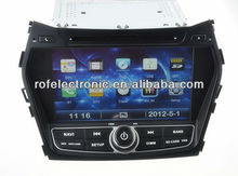 central multimidia for 2013 hyundai ix45 dvd gps with 3G,phonebook