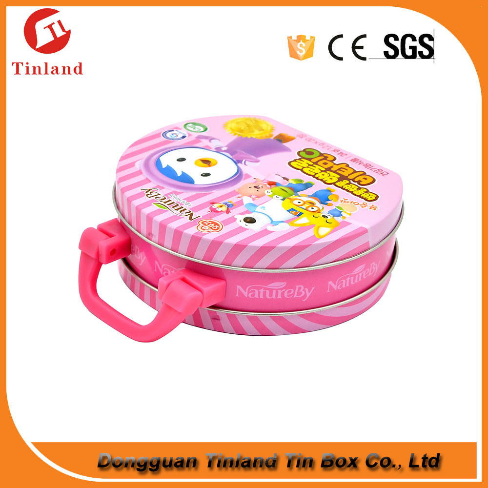 wholesale plain mini tin lunch box with lock and key