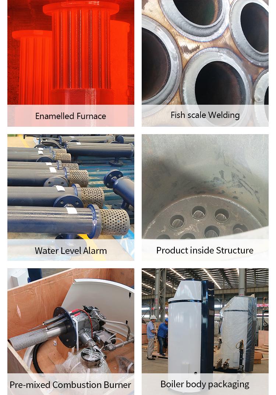 vertical steam 500kg boilers for industry