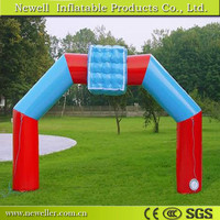 Wholesale inflatable plant arch with LED light