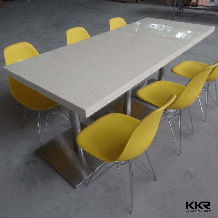 mess table, mess room furniture