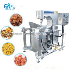 Seasoning automatic stainless steel flavored automatic popcorn machine