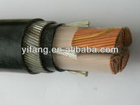 0.6/1KV PVC Insulation Low Voltage Underground Cable