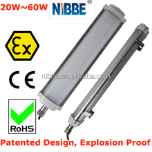 2017 ATEX LED explosion proof fluorescent light
