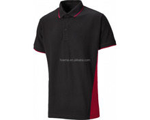 Two Tone Polo Shirt,custom Cotton polo t shirts with OEM logo for men