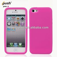 "soft silicon for iphone 5"" cell phone case"