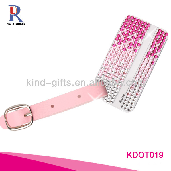 Bling Crystal Funny Luggage Accessories