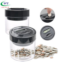 Coin Bank saving box digital money counter