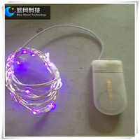 mini fairy button battery operated led string light