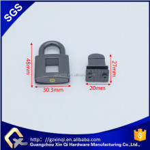 metal parts locks for bag boxes gift box cabinet box