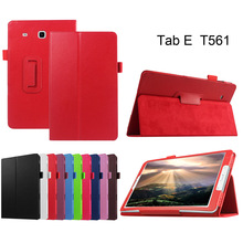 9.6inch Leather Flip Folio Cover Case For Samsung Galaxy Tab E 9.6 T560