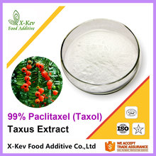 Factory Price Pure 98% Taxol / Paclitaxel Natural Taxus Extract