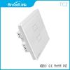 BroadLink RF controlled Home Automation Wall Light Switch WiFi control from smart phone Single live wire connection