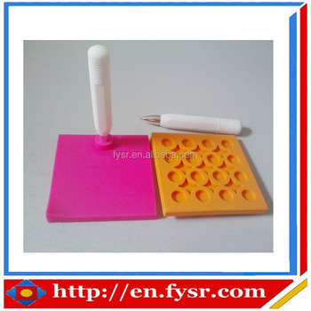 2015 OEM promotional gift silicone erasable writing pad