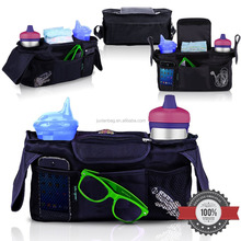Stroller Organizer with Bonus Shoulder Strap Baby Diaper Bag Baby Accessory Bag Baby Shower Gift