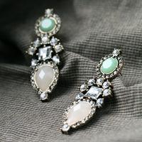 2016 new fashion EU fashion show earrings,diamond earring crystal jewelry from skysweet(PR391)