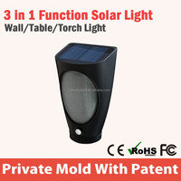 12V Dc Small Decorative Solar Pir Motion Sensor Light