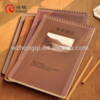 D119 A Custom Leather Notebook Note