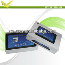 Cheapest Super Slim 8.1 Inch Capacitive Touch Screen Android 4.0 Kids mini tablet pc ZXS-8(Dual Core,3D Tablet)