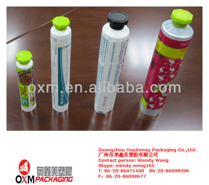 plastic tube vial,plastic barrier laminated tubes,plastic ointment tube