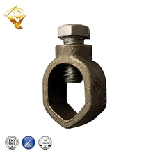 "Acorn Type Bronze Constant High Pressure Contact Eagle 3/8"" Ground Clamp"