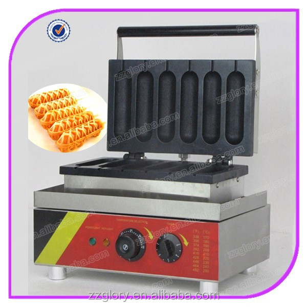 CE New 220V electric automatic french hot dog maker/ corn dog