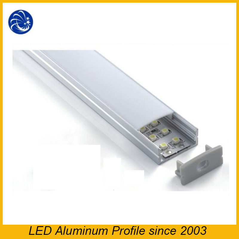 Low Price Led Light Profile Cabinet LightLed Strip Aluminum Extrusion Profile For Ceiling And Recessed Wall Light