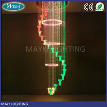 LED fiber optic lamp and chandelier decorative