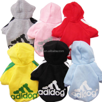Wholesale Pet Apparel Hoodies Puppy Dog Clothes Adidog Pet Clothing