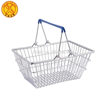 New High Quality Design Chrome Plated Mini Wire shopping Basket -XTB-0402M