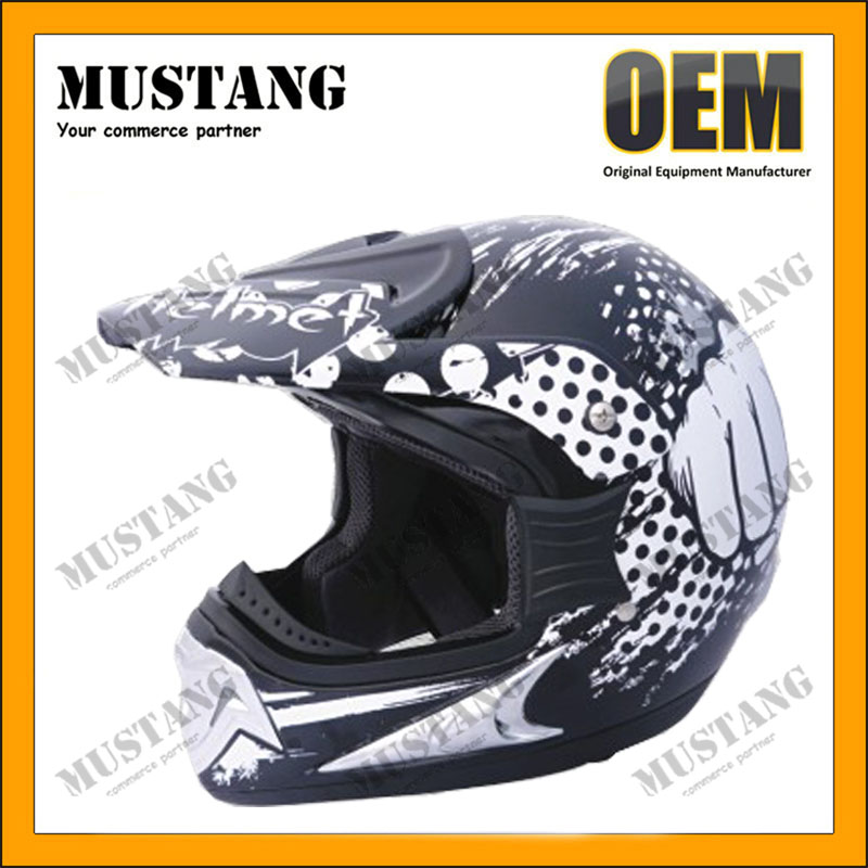 DOT Approved Fashional Design Dirt Bike Helmet Cross Helmet