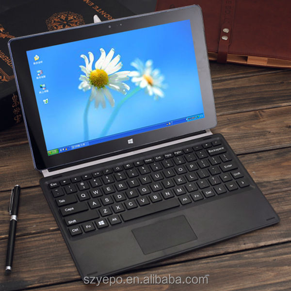 10 inch windows 8 touch panel tablet with keyboard case