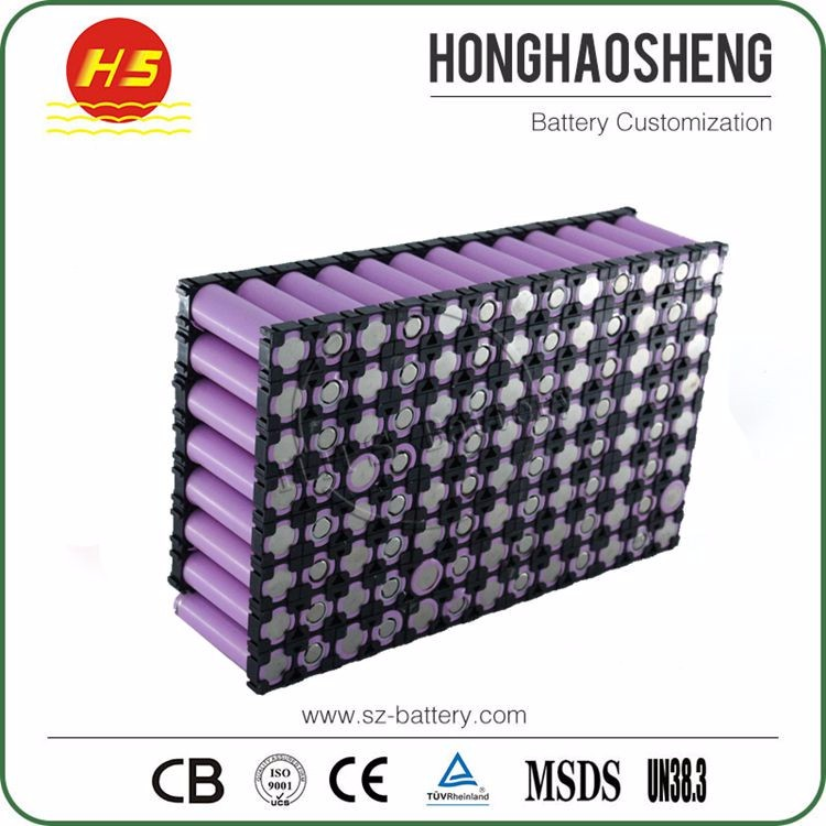 High quality 20s4p 18650 li-ion 72v battery pack 8.8ah for escooter