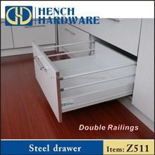 Metal Tool Box Drawer Slide Telescopic Channel