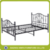 2 Adult Black Flower Metal Bed Iron Bed Furniture Pakistan