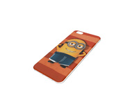 customization minions mobile phone leather case for apple