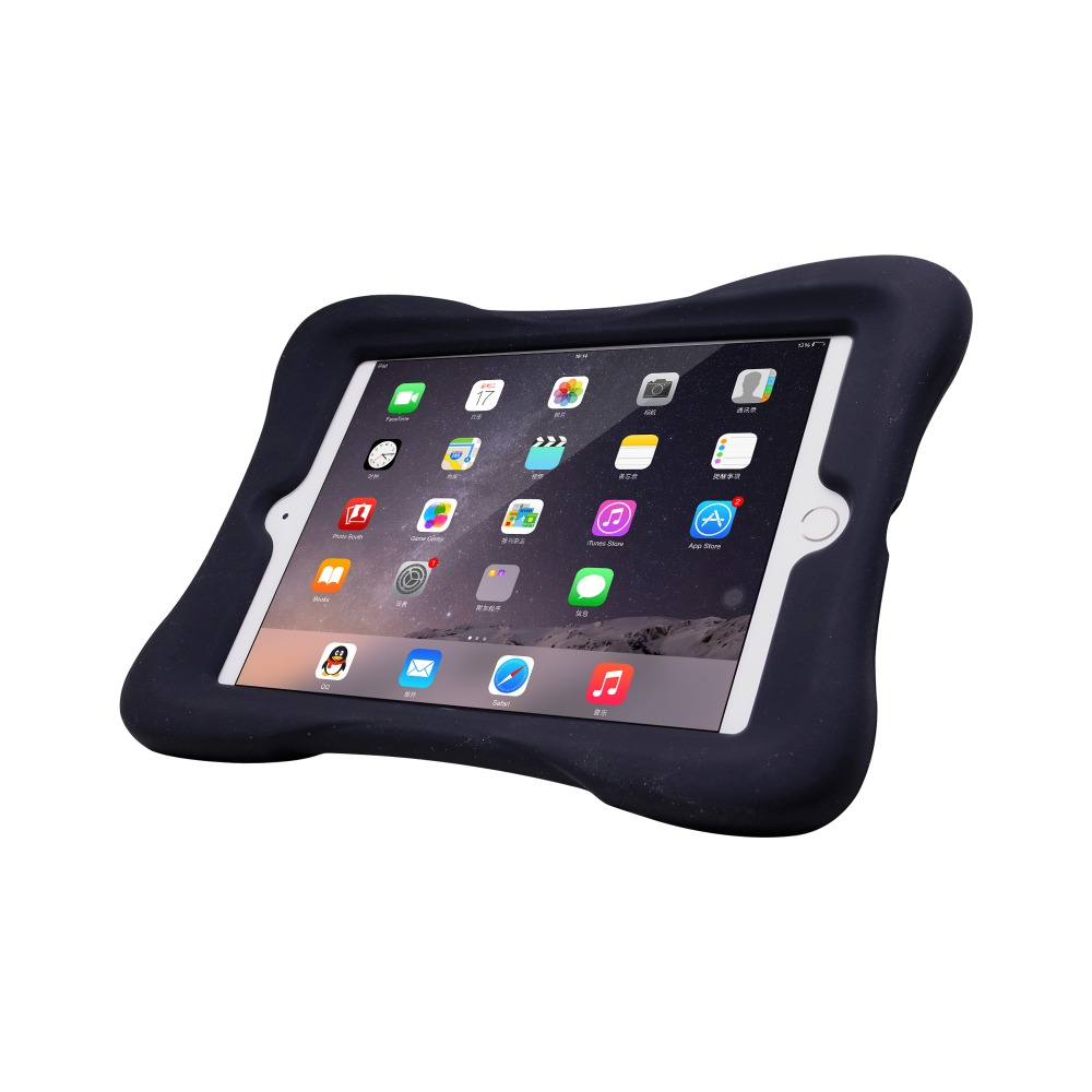 butterfly shape case for ipad mini 4 silicone material with stand function case for ipad mini 4