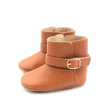 New Stlylish Baby Winter Shoes Fancy Italian Leather Kids Boots