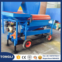 Mobile small scale gold trommel wash plant small gold mine equipment