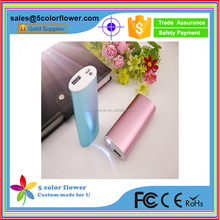 fast charging slim power bank charger 5600mah for iphone/ipad/GPS/game player