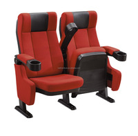 Push back cinema seat KL-640