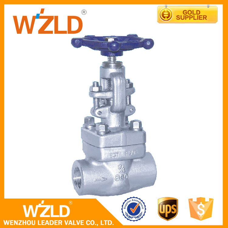 WZLD Water,Air,Gas Medium ( W.B ) or ( OS& Y ) Bolted Bonnet Forge Cast Steel Seal Gate Valve