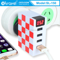 New Portable 4 Ports USB Wall Travel Charger Multi Plug AC Adapter 5V 4.8A 2016 wholesale