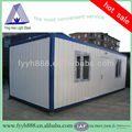 low cost movable container frame used for workshop