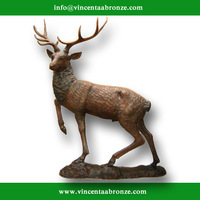 Brand new copper deer statue (customized service is available)