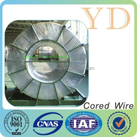 CaSi Cored Wire/Best Calcium Silicon Cored Wire