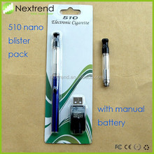 2015 Most popular refill 510 cartomizer thick oil electronic cigarette 510 cartridge tank atomizer 510