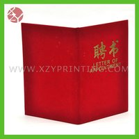 China manufacture OEM design professional certificate printing