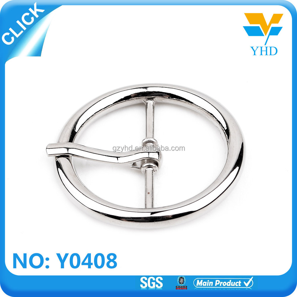 custom 2017 new product zinc alloy coin belt buckles